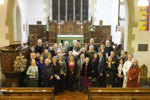 Over 18 couples renewed their vows at St. Andrew's Church, Coniston
