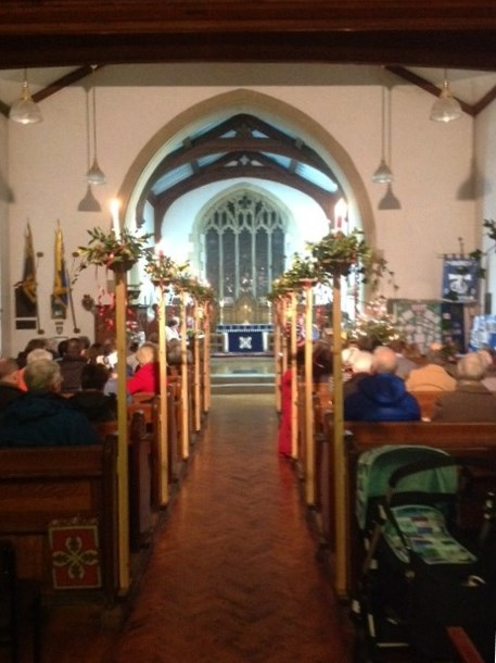 A celebration of Christmas at St. Andrew's Church