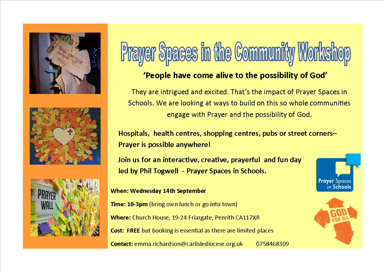 Prayer Spaces in Community