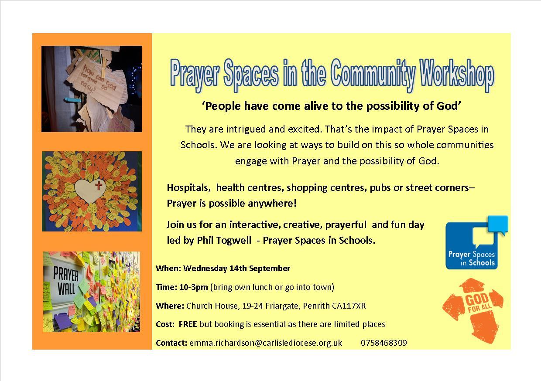 Prayer Spaces in Community